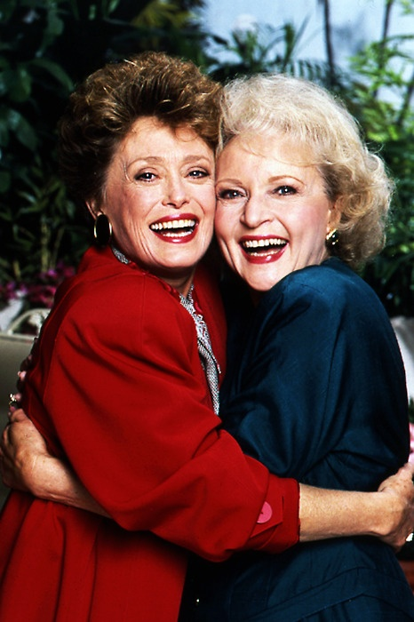 Rue McClanahan and Betty White!! The Golden Girls have my heart