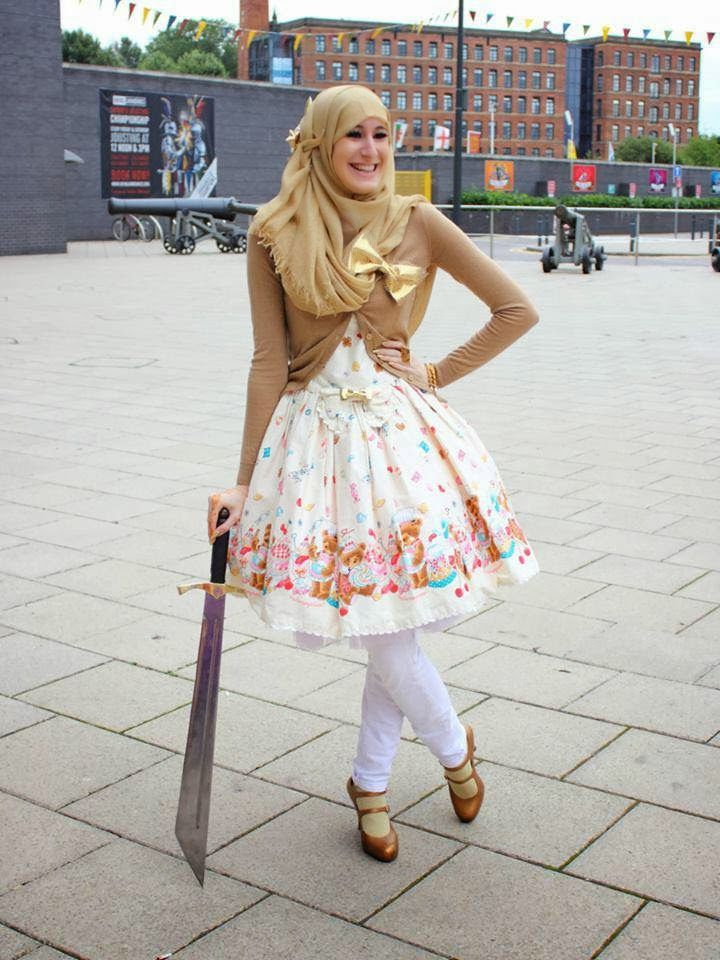 Keep kawaii and put your hijab: My Lolita Coordinate