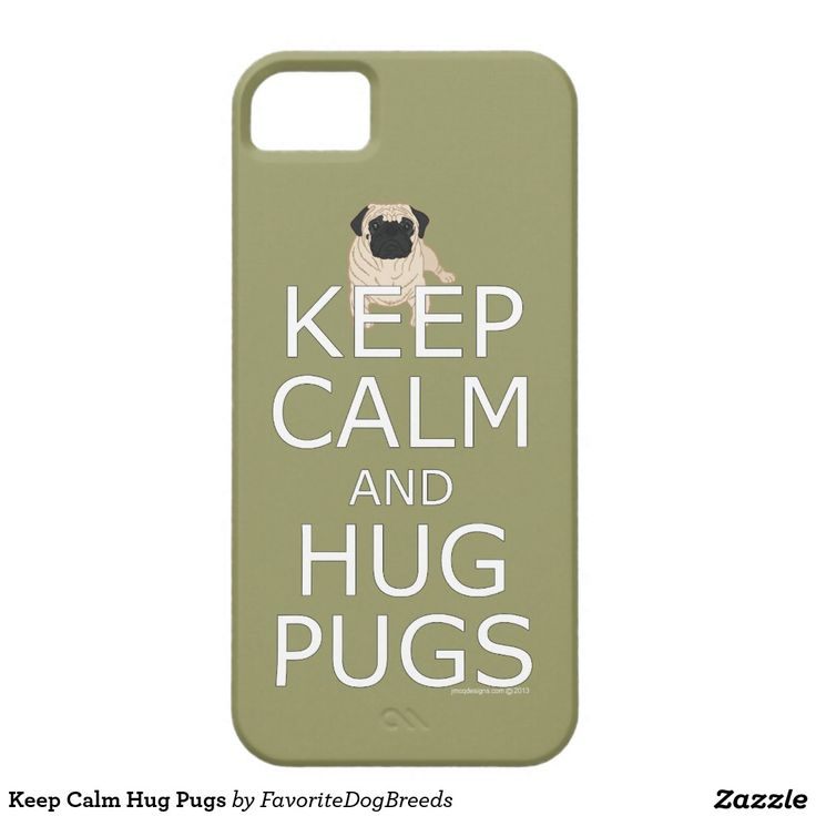 Houd Kalme Pugs van de Omhelzing Barely There iPhone 5 Hoesje