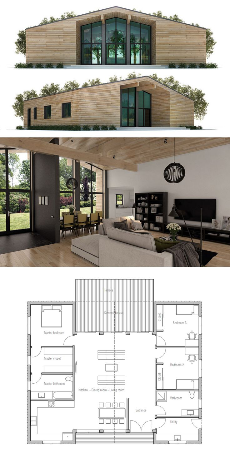 191 best home plans single story images on pinterest small