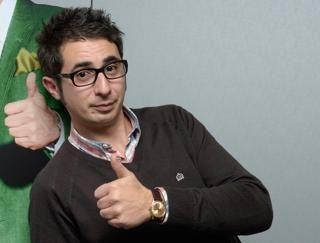 """Berto Romero. Gran humorista Catalán, muy famoso por el programa """"Buenafuente"""". Emitido en la Sexta de España."""