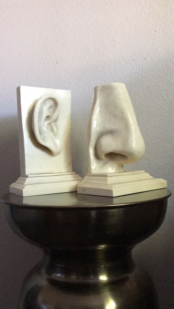 Ear And Nose Bookends For Sale In El Cajon Ca Offerup Sculpting Clay Sculpture Ear