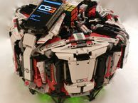 Lego robot sets new Rubik's Cube world record CubeStormer 3 solves a Rubik's Cube in 3.253 seconds, beating its own robot predecessor CubeStormer 2.