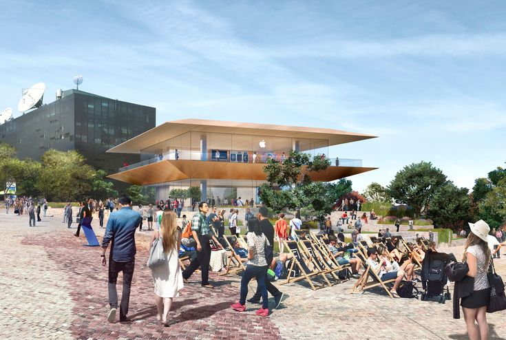 Apple Reveals Plans for Foster + Partners-Designed Global Flagship Store in Melbourne