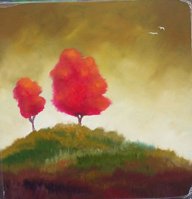 61 cm x 61 cm x 12 m Sealed Oils on Stretched Canvas Panel...R600