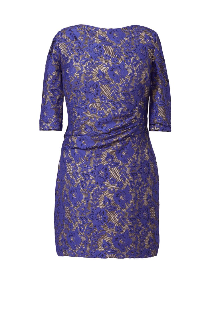 Kay Unger Blue Beauty Dress