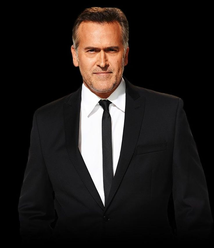 Bruce Campbell - Sam Axe, Burn Notice. I know he's older but he's so sexy to moiiiii teehee