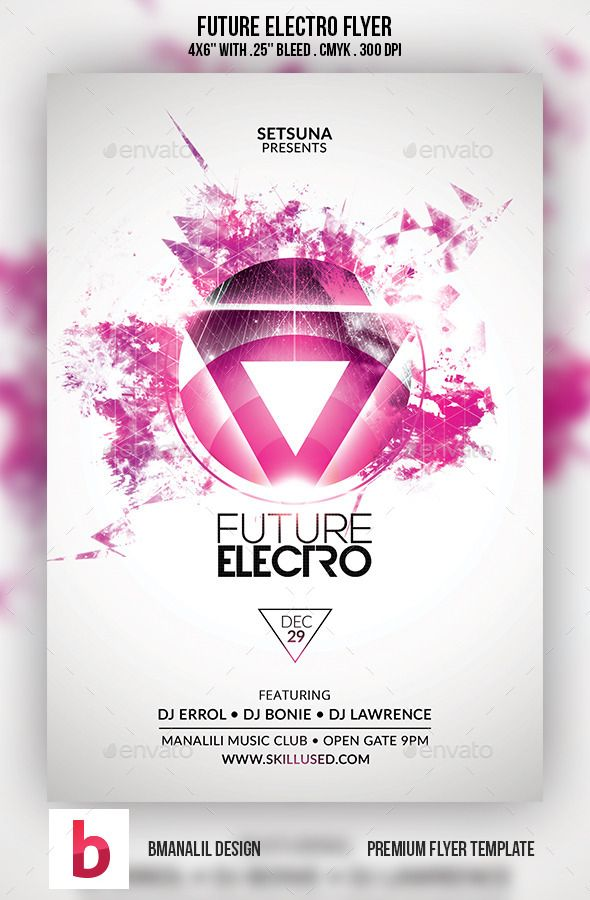 20 best luces images on Pinterest Lights, Flyers and Brother - electro flyer