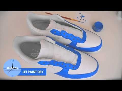 Design and paint your own shoes!