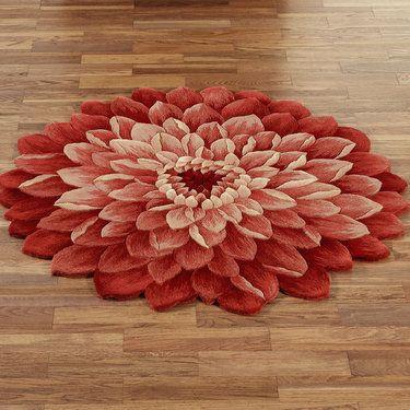 Addie Flower Shaped Rug