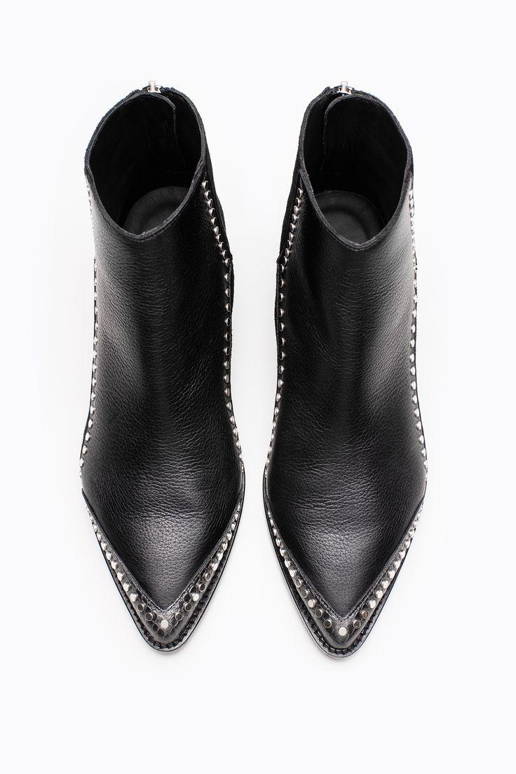 Zadig & Voltaire mods clous black women boots