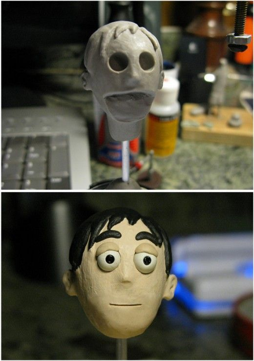 Stop-motion is a wonderful form of animation where puppets and props are moved a tiny amount between the individual frames. This page offers beginners information about how the characters are created.