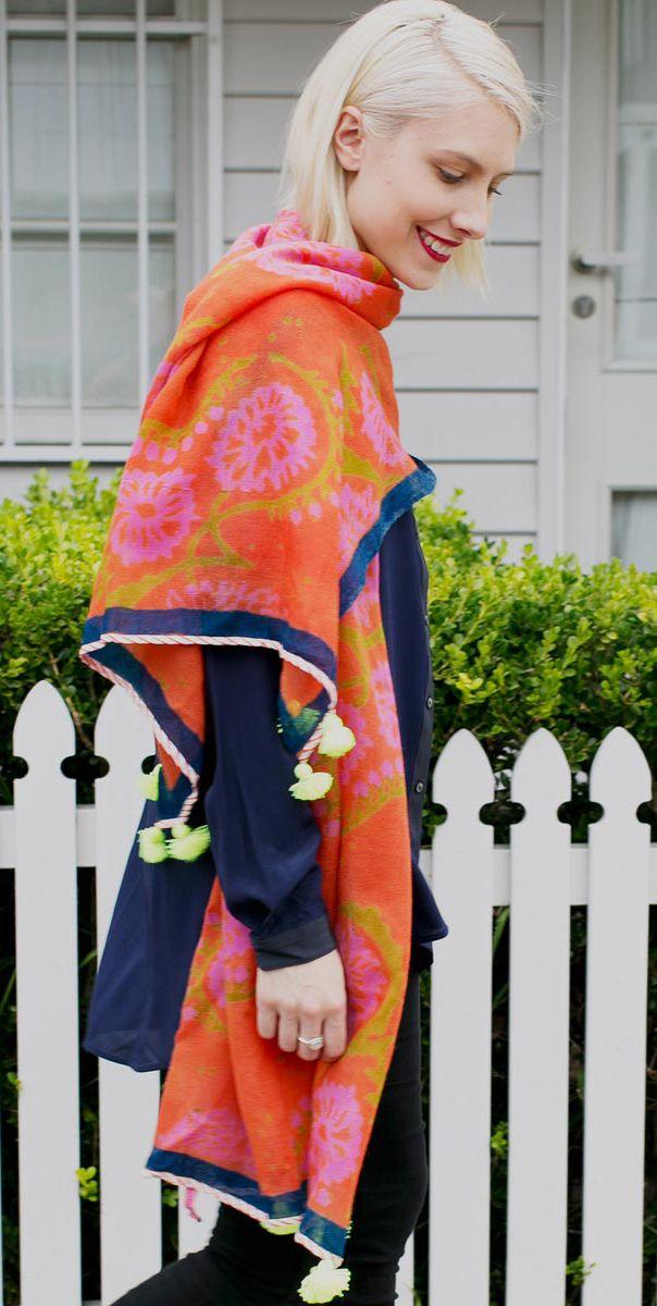 Winter scarves online now on www.readsonline.com.au