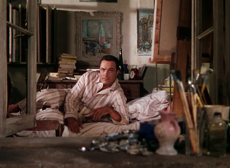 Looking out the window from the bed // An American In Paris // Minnelli