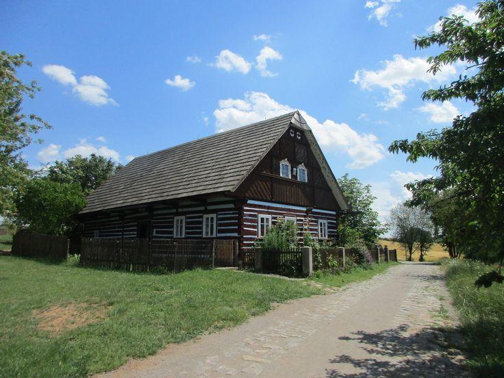 Roubenka - skanzen - Kouřim - Středočeský kraj