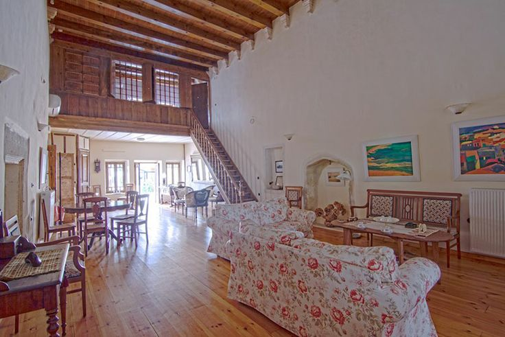 www.anassa-crete.gr Anassa Historical House #villa #historical_house #crete #rethymno #greece #vacation_rental #private #luxurious_accommodation #holidays #summer_in_Crete #livingroom