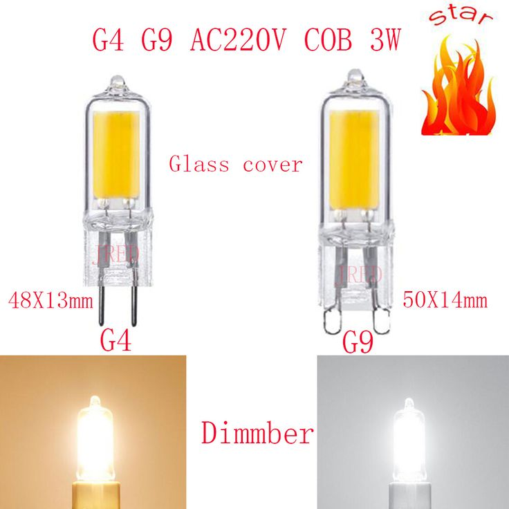 5PCS 10PCS LED Bulb G9 COB LED 220V/230V/240V 3W High Power Tube Clear Glass G4G9 LED Warm White/Cold White replace Halogen lamp. Yesterday's price: US $13.20 (10.75 EUR). Today's price: US $8.05 (6.53 EUR). Discount: 39%.