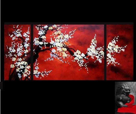Asian canvas paintings remarkable