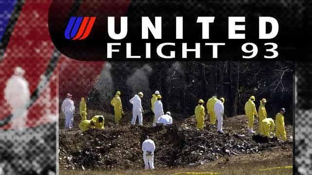 United Airlines Flight 93 Crash in Pennsylvania