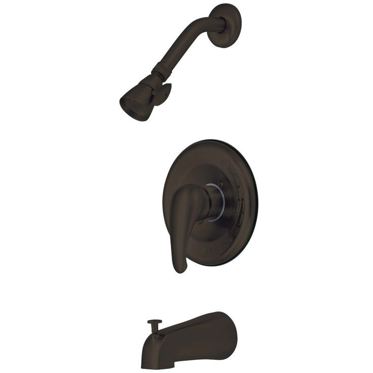 Kingston Brass KB655T Trim Only For Single Lever Handle Tub & Shower Faucet, Oil Rubbed Bronze - Price: $89.95 & FREE Shipping over $99