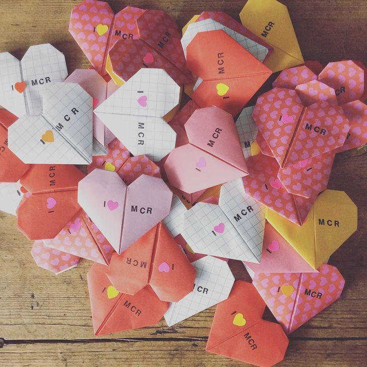 origami hearts  valentines origami valentine cards