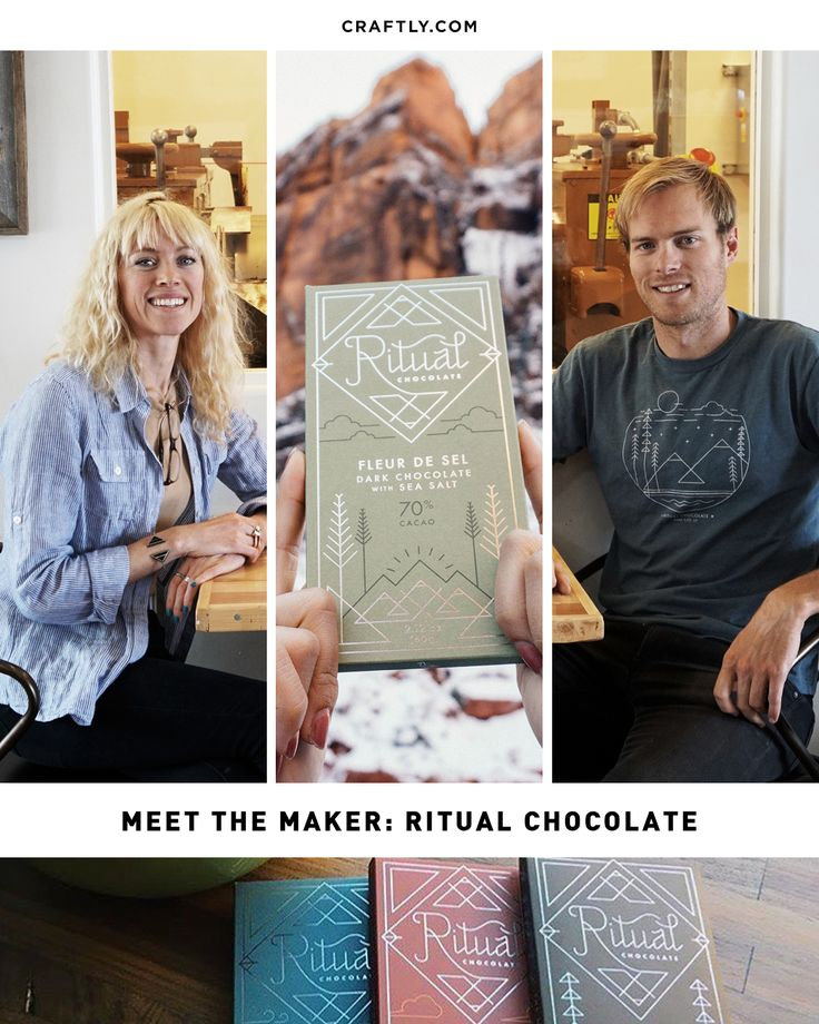 Meet the Maker: Ritual Chocolate Not only were we excited to feature this product in December's box, we were fond of discovering that he and his partner Anna are quite involved in the outdoors. They live with intention, and you can tell through their chocolate and how the package was designed.