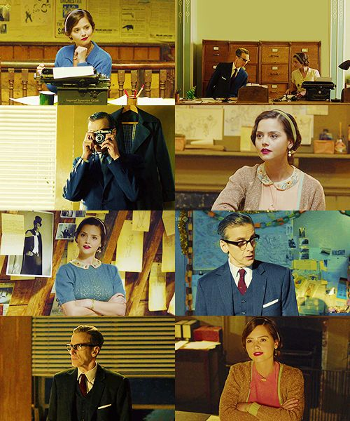 AU Doctor Who: In which Clara and Twelve go undercover at a newspaper company in the 1950s.