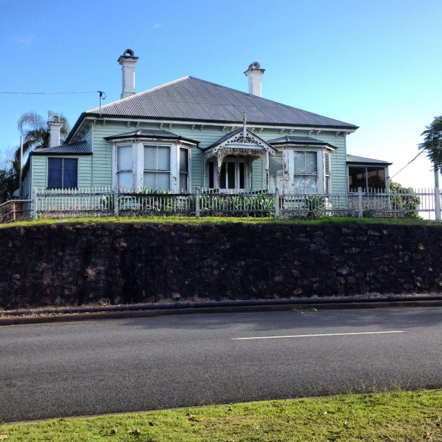 Old house in Ipswich, Australia - many beautiful old homes can be seen in Ipswich.