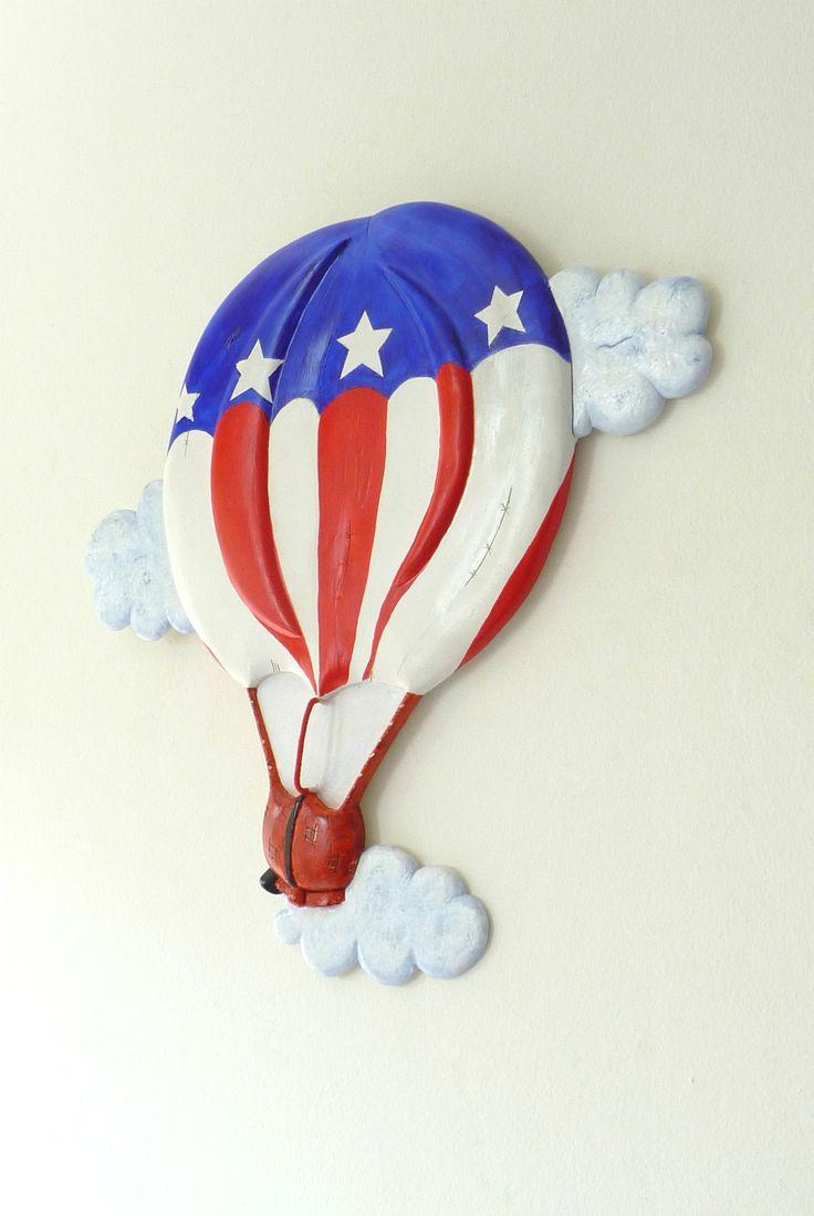 American Flag Balloon.