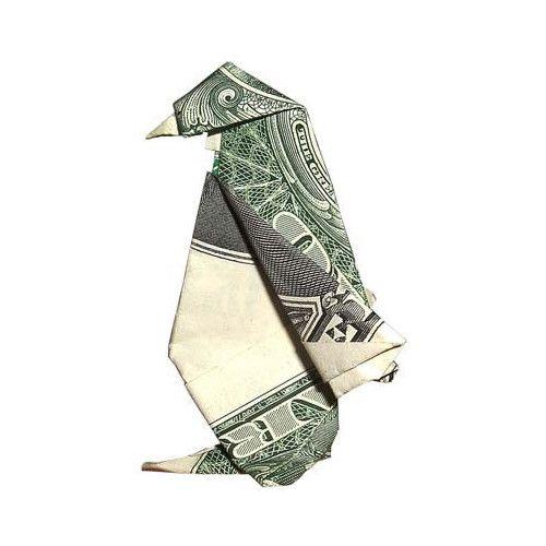 Origami: formas increibles con un billete de un dólar - Primera Parte - Guía de MANUALIDADES