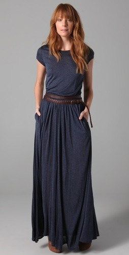 Heather Maxi Tee Dress (link a dud -- google search appears dress to be unavailable).