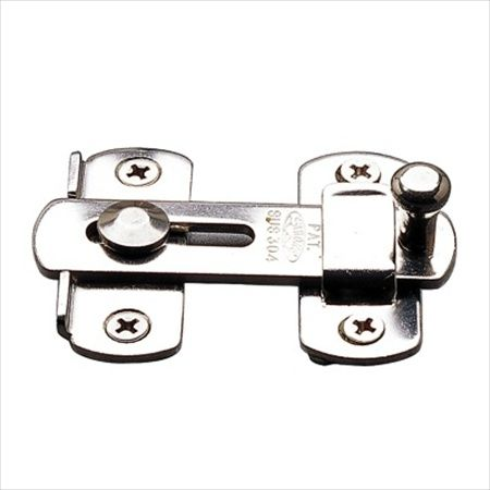 75070170 - Richelieu Hardware 75070170 Contemporary Steel Shutter Latch 70MM Stainless Steel Finish - GoingKnobs