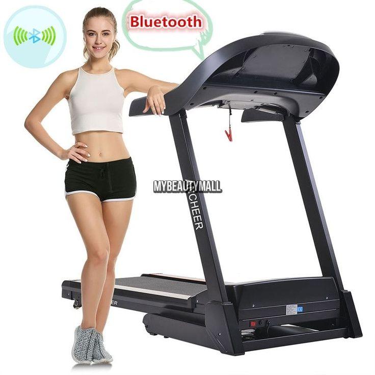 2.25HP Folding Commercial Treadmill Power Motorized Running Machine 1.0-14KM/H…