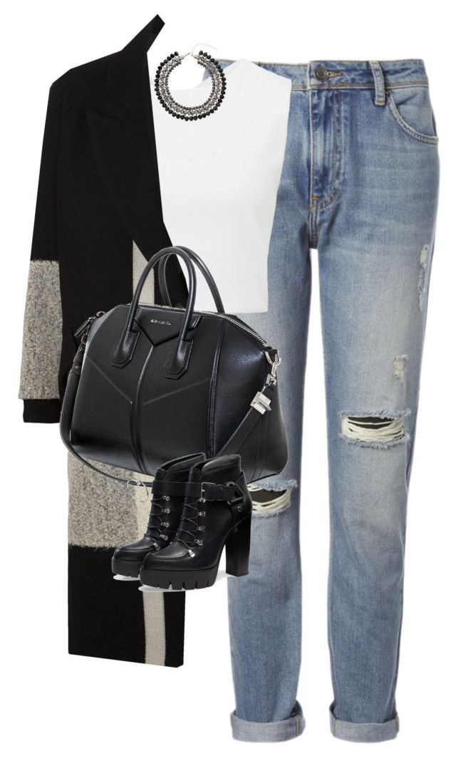 """""""Untitled #1150"""" by lovetaytay ❤ liked on Polyvore featuring Whistles, Alice + Olivia, Song for the Mute, Givenchy, Zara and Topshop"""