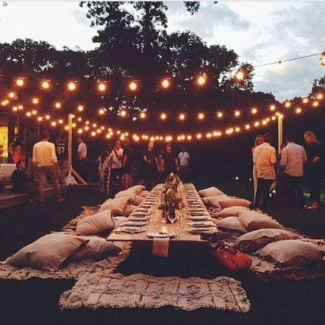 Legende 46 Gemütliche Hinterhof Hochzeit Dekor Ideen für den Sommer