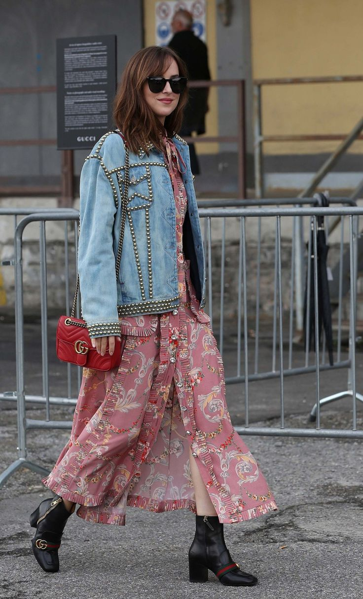 Dakota Johnson   The runways provided inspiration, but the stars in the front row brought the trends to life on the streets.