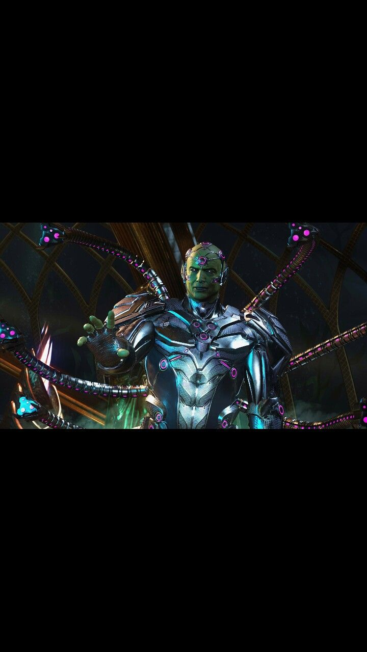 Injustice 2 brainiac first in game look