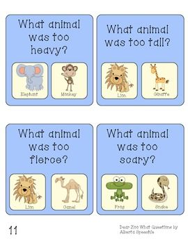 DEAR ZOO LANGUAGE AND PHONOLOGICAL AWARENESS PACK - TeachersPayTeachers.com