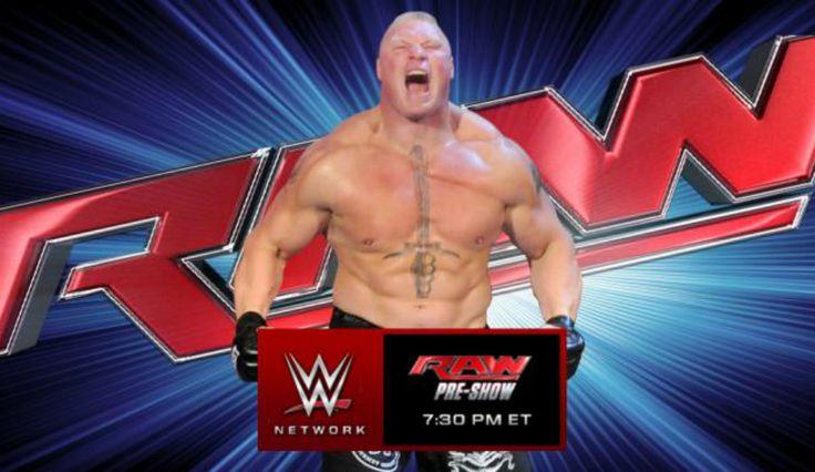 WWE News: 'Monday Night Raw' Preview–Brock Lesnar Returns