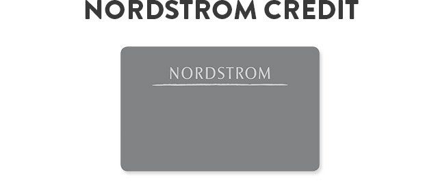 Nordstrom retail credit card. I am in so much trouble now!!! :)