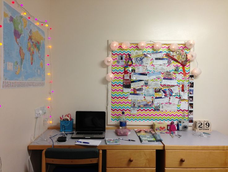 Final year room decoration