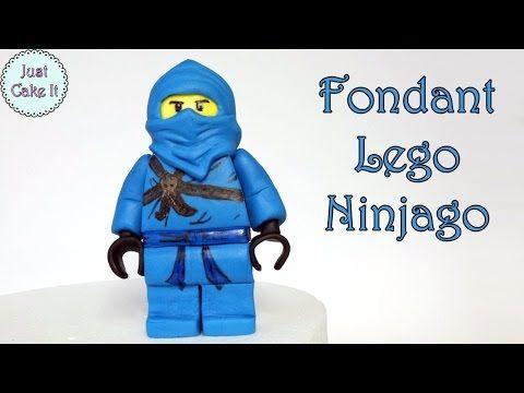 How to make fondant Lego Ninjago figure / Jak zrobić figurkę Lego Ninjago - YouTube