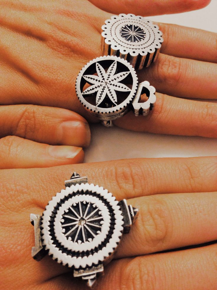 Silver rings, Symbols, Tradition, Contemporary Jewelry