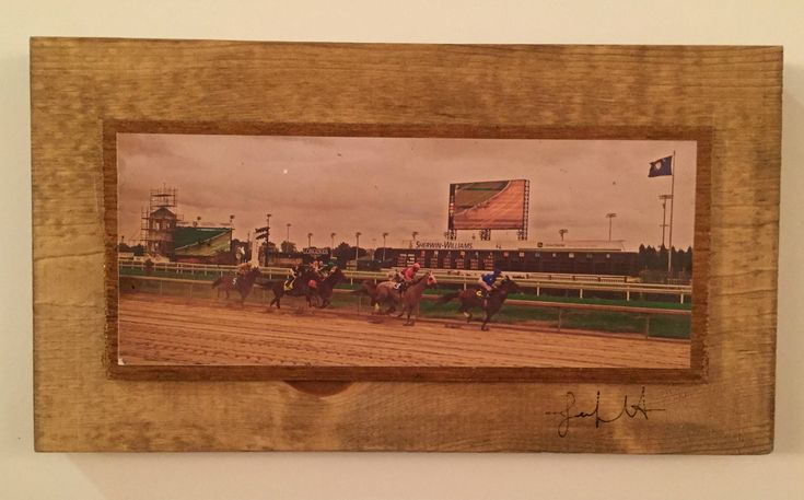 Clouds at Churchhill Downs Panorama, Louisville, Kentucky, Art Photography, Framed Wall Art by LayneWilsonPhotos on Etsy