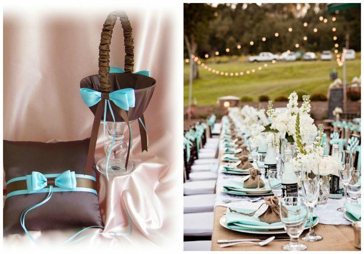 ... turquoise chocolat sur Pinterest  Turquoise, Gâteaux de mariage et