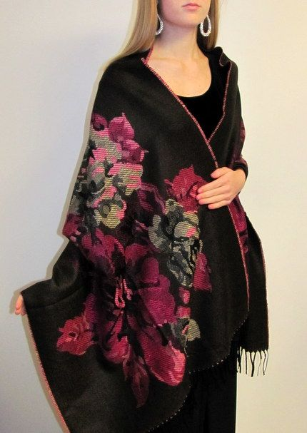 Women's Warm Thick Wrap - new arrival thick warm womens wrap - warmth and reversible stylish beauty at one low sale price.