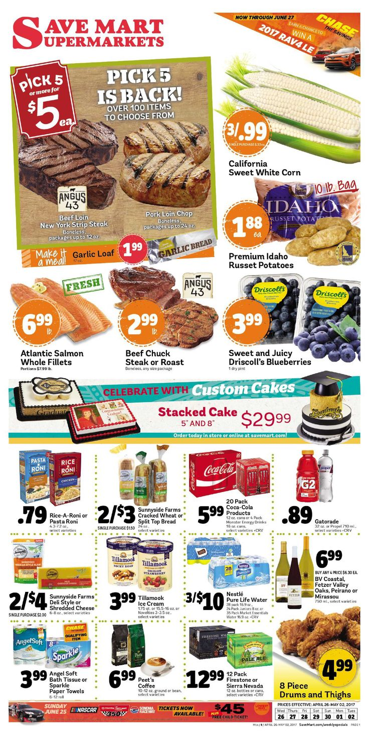 Save Mart Weekly ad April 26 - May 2, 2017 - http://www.olcatalog.com/save-mart/save-mart-weekly-ad.html