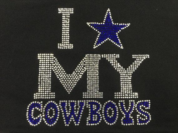 49ea1fcbf ... Dallas Cowboys Rhinestone - I need this to make my mommy a shirt.