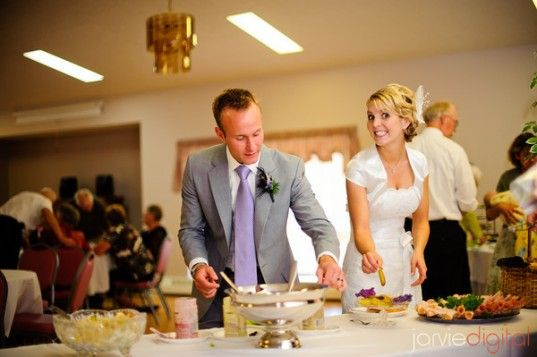 DIY Wedding buffet - step by step guide