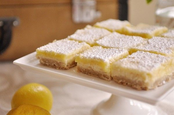 Lovely Lemons – Lemon Cheesecake Bars | Recipe